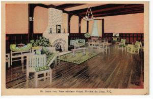 St Louis Inn , New Modern Hotel , RIVIERE DU LOUP , Quebec , Canada , 30-40s #2