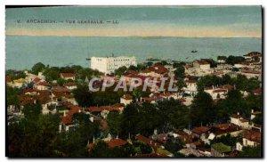 Old Postcard Arcachon Vue Generale