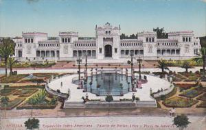 Exposicion Ibero-Americana, Palacio de Bellas Artes y Plaza de America, SEVIL...