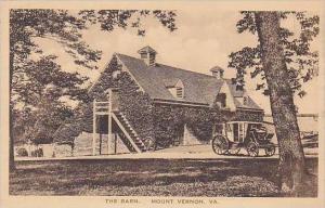 Virginia Mount Vernon The Washington Family Home And The Barn-Albertype