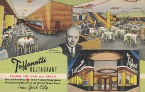 NEW YORK CITY , 30-40s ; Toffenetti Restaurant, 43rd & Broadway # 2