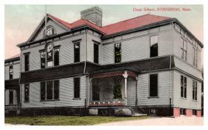 Massachusetts Stoughton , Clapp School