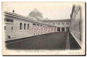 Postcard Old Vichy Thermal Establishment Interior