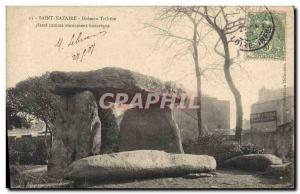 Old Postcard Dolmen Megalith Dolmen Saint Nazaire trilithon