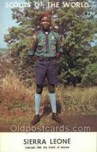 Sierra Leone Boy Scouts of America, Scouting Postcard, Post Cards, Copyright ...