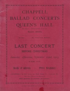 Carmen Hill Kirkby Lynn Louise Dale Classical Old Theatre Programme