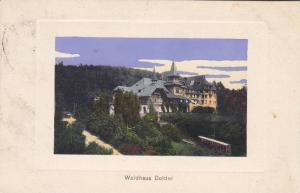 Waldhaus Dolder, Zurich, Switzerland, PU-1909