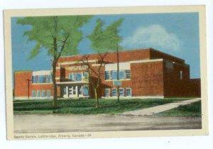 Sports Center, Lethbridge, Alberta, AB, Canada, 1950 White border