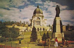Saint Joseph´s Oratory of Mount Royal, The Joseph's Statue, Garden, MONTREAL...