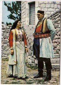 CRNOGORSKA NOSNJA, unused Postcard