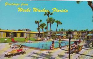 Florida Weeki Wachee Holiday Inn Swimming Pool