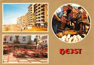 Belgium Heist Plage Beach Promenade Terrace Market