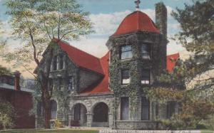 The Baldwin Cottage - Oberlin College - Oberlin, Ohio - pm 1918 - DB