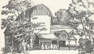 NEW HOPE , Pennsylvania, 1940s ; Bucks County Playhouse