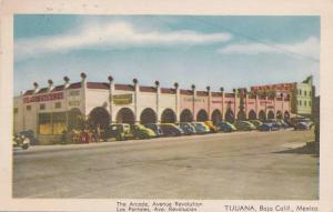 The Arcade, Avenue Revolution, Hotel, Tijuana, Baja California, Mexico, 30-40s