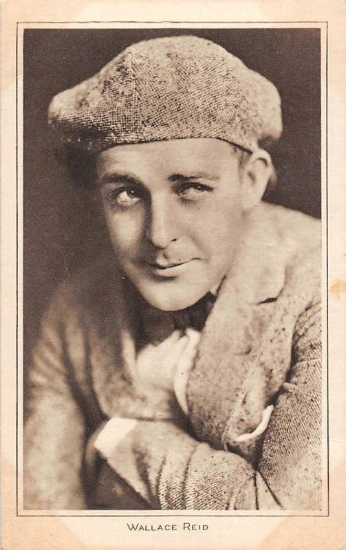 Wallace Reid, silent film American actor