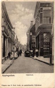 CPA APPINGEDAM Dijkstraat NETHERLANDS (706199)