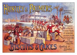 Postcard Huntley & Palmers Biscuits & Cakes Reproduction Advertising Card F24