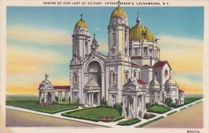 New York Lackawanna Shrine Of Our Lady Of Victory Fatherbakers