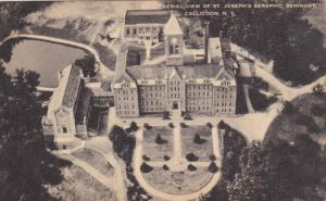 CALLICOON, New York, 1900-1910's; Aerial View Of St. Joseph's Seraphic Seminary