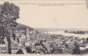 La Ville Et La Seine,L'Un De Points Les Plus Harmonieusement Pittoresque De L...