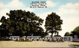 Florida Pensacola Wayside Court East Gregory Street