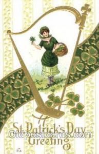 Artist Samuel Schmucker? St. Saint Patrick's Day Postcard Postcards