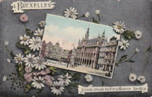 Belgium Brussells Grand Place 1910
