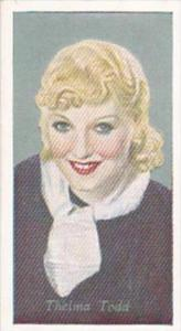 Godrey Phillips Cigarette Card No 41 Thelma Todd
