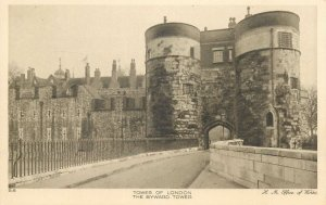 England London Tower Byward Tower Post card