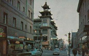 SAN FRANCISCO, California, 1963; Chinatown at Night