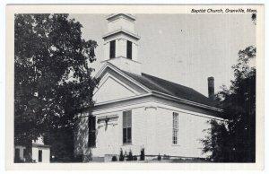 Granville, Mass, Baptist Church