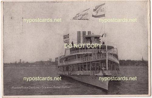 Hudson River Dayline, Steamer Robert Fulton