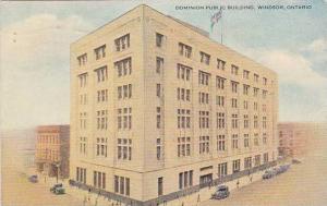 Dominion Public Building, Windsor, Ontario, Canada, PU-1937