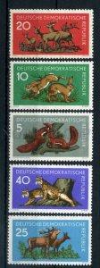 003459 GDR wild animals set 1959 MNH