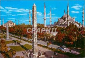 Postcard Modern Istanbul ve Saheserleri Hippodrome and the Blue Mosque