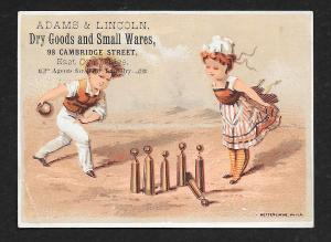 VICTORIAN TRADE CARDS Kids General Dry & Fancy Goods