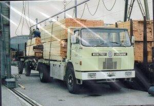 Vintage Trucks on Postcards GERMANY 1970 HENSCHEL F 161 AK, 240 PS, 6 Zylinder