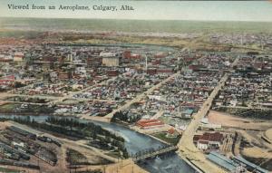 CALGARY , Alberta, Canada, 00-10s ; Viewed from an Aeroplane