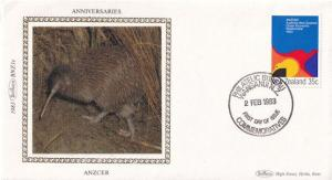Anzcer Benham Bird New Zealand First Day Cover