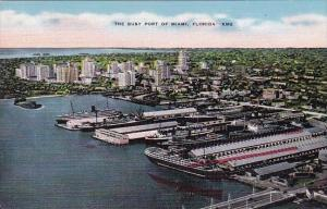 Florida Miami The Busy Post Of Miami