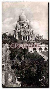 Postcard Old Paris And Its Wonders From the Basilica Sacre Coeur De Montmartr...