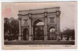 London, The Marble Arch, RPPC