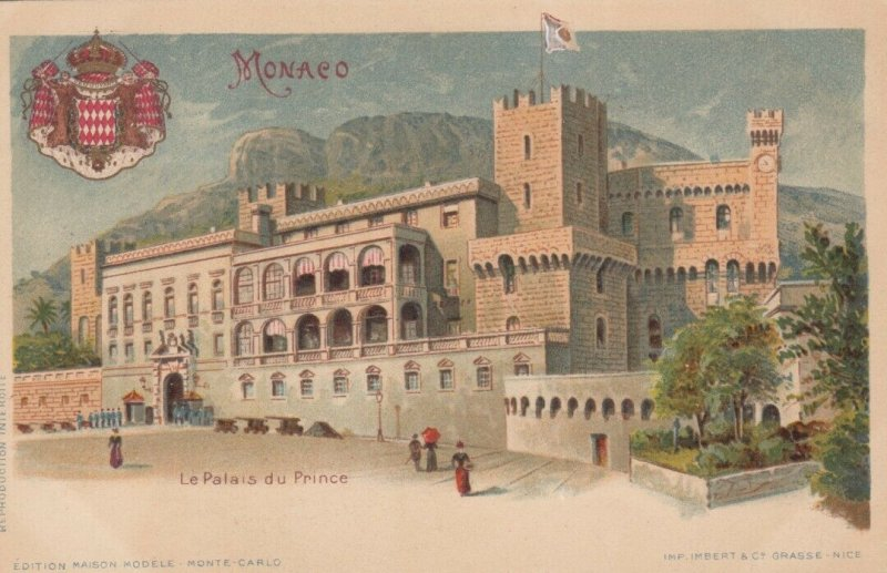 MONACO , 00-10s; Le Palais du Prince