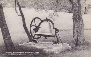 Michigan Cassopolis Roger Reichenbach Memorial 1958 Camp Friedenswald Artvue