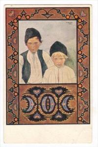 Two boys , Konstanty Rayski: Typy Lubelskie , Poland, 00-10s