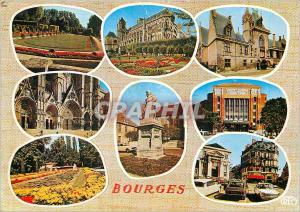 Modern Postcard Bourges (Cher)