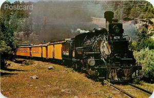 Railroad, Narrow Gage Train, Engine No. 476, Line Durango to Silverton Colorado