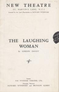 The Laughing Woman Stephen Haggard Comedy New London Theatre Programme