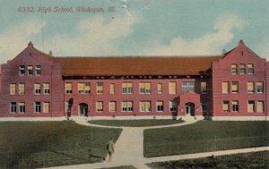 WAUKEGAN , Illinois , 1900-10s;  High School